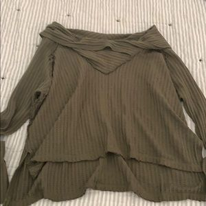 NWOT Free People off the shoulder top